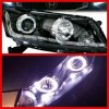 Headlamp Accord 08-12 Projector Angel Eyes Starline Crystal Black