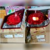 11-B469/17-A249 Stoplamp Civic FD 2006 sd 2011 Crystal Red Clear 4 PCs(RTF)