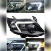 Headlamp Grand Fortuner 2012 sd 2015 Projector LED Bar Crystal Black (RTF)