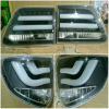 YAB-FOR-0184A-BLK Stoplamp Grand Fortuner 2011 sd 2015 Double Bar Black Housing Clear Lens (RTF)