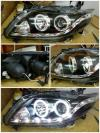 ATY1037-B7WC0-B2H Headlamp Altis 08-10 Projector LED Starline Angel Eyes Crystal Black Housing (Rev)