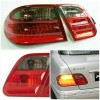 ABZ076-BEDE4-E Stoplamp Mercedes E Class W210 1995-2002 LED Crystal Smoke Red (RTF)