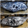 ATY1150-B7W2H-2V Headlamp Altis 11-13 Projector LED Starline Crystal Chrome Housing (Revs)